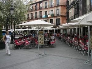 Terrazas de la Plaza de Zocodover