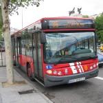 Autobuses urbanos en Madrid