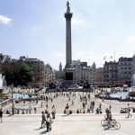 Un paseo por Trafalgar Square