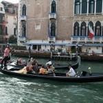 Las góndolas de Venecia