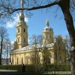 La Catedral de Pedro y Pablo en San Petersburgo