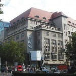 De compras en Berlín : KaDeWe