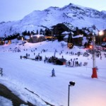 Esquiar en Avoriaz, Alpes franceses