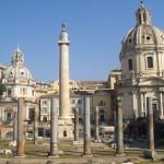 La Columna de Trajano en Roma
