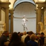 La Galería de la Academia en Florencia