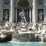 La Fuente de Trevi de Roma