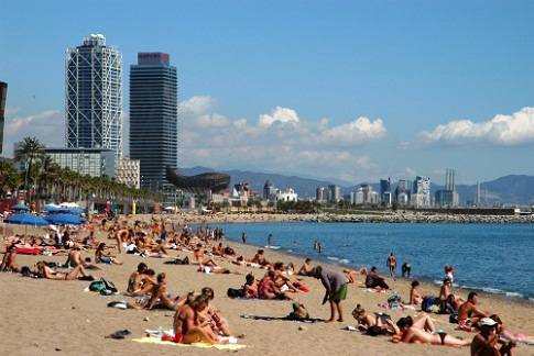 La barceloneta el barrio marino de barcelona euroescapadas Hoteles en barcelona ciudad