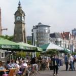 Dusseldorf, la puerta del Rhin en Alemania