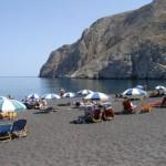Playas en Santorini