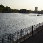 Serpentine, el río de Hyde Park en Londres