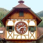 Los famosos relojes cucú alemanes