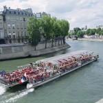 Cruceros en el río Sena