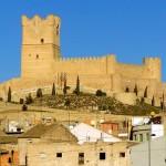 La ciudad de Villena en Alicante
