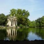 La Villa Borghese, hermoso parque de Roma