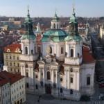 La Iglesia de San Nicolás en Praga