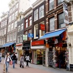De compras en Amsterdam