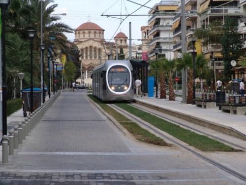 Tranvia en Atenas