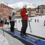 Esquiando en el Pirineo Aragonés : Astún