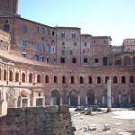 Visita el Mercado de Trajano en Roma