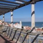 Miradores de Lisboa, imágenes de postal