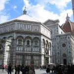 El Baptisterio de San Juan en Florencia