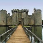 Bodiam, el castillo del cuento de hadas