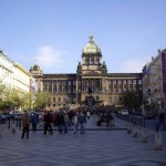 La Plaza de Wenceslao en Praga