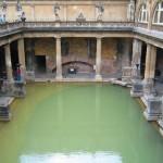 Conozca los baños romanos de Bath