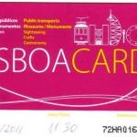 Lisboa Card, viajar barato a Lisboa