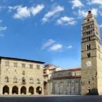 Pistoia, ciudad medieval en la Toscana