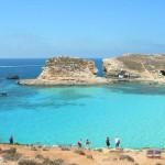 Cominotto y la Laguna Azul en Malta