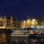Crucero nocturno por Amsterdam