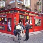 Temple Bar, el barrio bohemio de Dublín