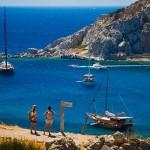 Costa del Egeo, mitología y aventura