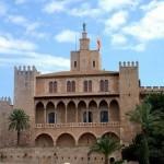 El Palacio de la Almudaina en Palma de Mallorca