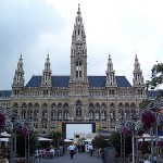 El Wiener Rathaus o Ayuntamiento de Viena