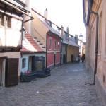 El Callejón de Oro en Praga