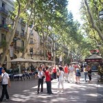 Las Ramblas, la calle más famosa de Barcelona
