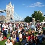 Disfrute el Festival del Támesis 2012