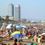 Disfruta de las playas de Barcelona