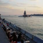 Uskudar, el mejor atardecer de Estambul