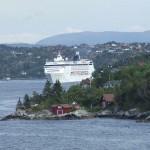 Cruceros a los fiordos noruegos : Bergen