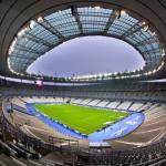 El Stade de France, estadio de fútbol en París