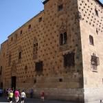 Turismo en Salamanca : Casa de las Conchas