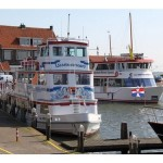 Ferry entre Marken y Volendam, Holanda