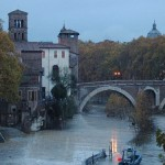 La Isla Tiberina en Roma