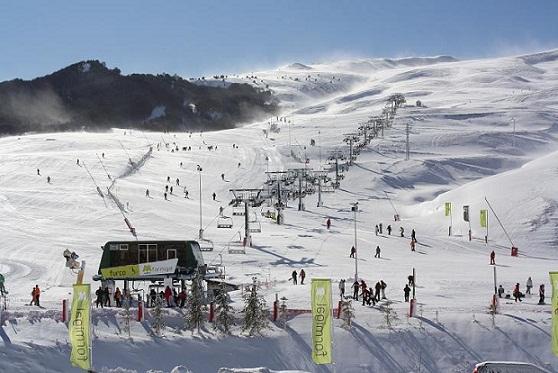 Estacion de esqui España