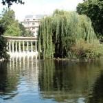 El Parque de Monceau en París