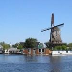El Molino Van Sloten en Amsterdam, símbolo de Holanda