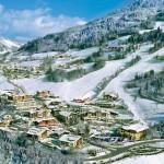Tradicionales villas alpinas en Austria